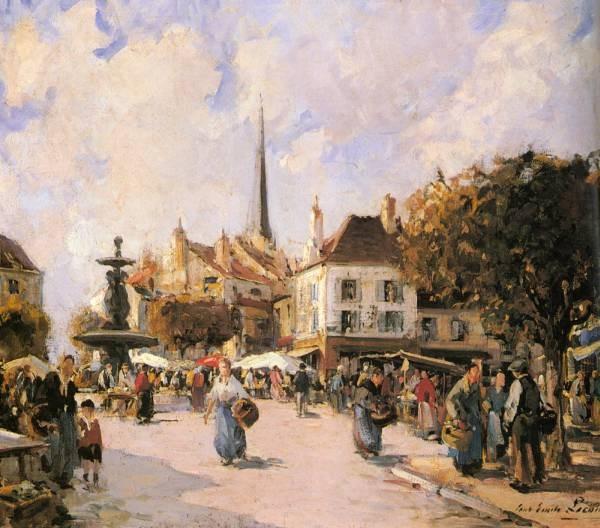 A French Market Scene